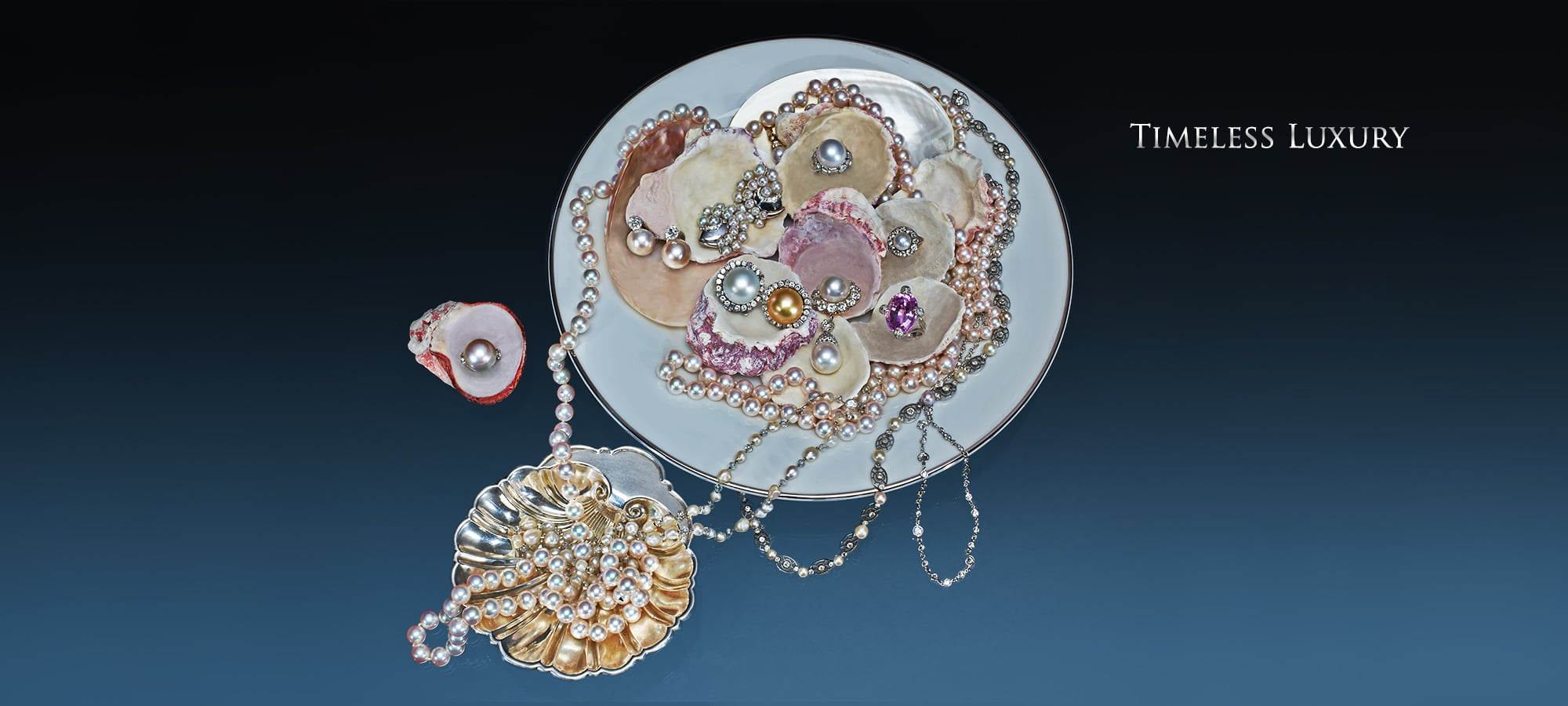 Cultured Pearl Necklace, Mabe Pearl and Diamond Ring by Suzanne Belperron, Paris, Mabe Pearl and Diamond Earrings by Suzanne Belperron, Paris, Pearl and Diamond Earrings in White Gold, South-Sea Pearl and Diamond Ring, Natural Pearl and Diamond Ring, Kunzite and Diamond Ring, South-Sea Pearl and Diamond Brooch, White and Golden South-Sea Pearl and Diamond Earrings, Natural Pearl and Diamond Bead Necklace, Antique Natural Pearl and Diamond Necklace, Rose-Cut Diamond Chain